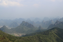 Panorama de la Yao Mountain