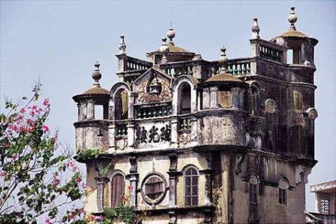 guangzhou_kaipingdiaolou_roof