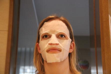 Application du masque