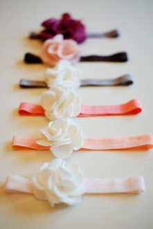DIY-Hair-Accessories-Felt-Flower-Headband